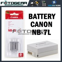 Battery Canon NB-7L for Canon Powershot G10, G11, G12, SX30 IS