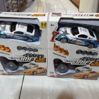 MAINAN ANAK YOYO RC DRIFT 1:24 4WD TRUE DRIFT CAR (QY0808)