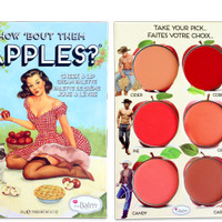 THE BALM - How 'Bout Them Apples? Lip and Cheek Cream Palette