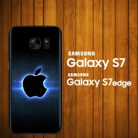 harga Custom Case Samsung Galaxy S7, S7 Edge Apple Logo Z3822 Hardcase Tokopedia.com