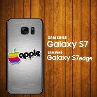 harga Custom Case Samsung Galaxy S7, S7 Edge Apple Retro Logo Z3834 Hardcase Tokopedia.com