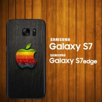 harga Custom Case Samsung Galaxy S7, S7 Edge Logo Apple  Z3823 Hardcase Tokopedia.com