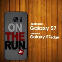 harga Custom Case Samsung Galaxy S7, S7 Edge Nike On The Run Z3839 Hardcase Tokopedia.com
