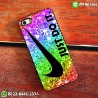 harga Rainbow Just Do It Nike Iphone 5 5s Se 6 Plus 4s Case Samsung Htc Case Tokopedia.com