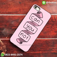 harga Quotes Can You Not Tumblr Iphone 5 5s Se 6 Plus 4s Case Samsung Cases Tokopedia.com