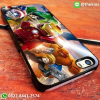 The Lego Avengers iPhone 5 5s SE 6 Plus 4s case Samsung HTC Sony cases