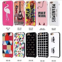 HARD CASE IPHONE 5 / 5S CASING LUCU KATE SPADE LAYERED CASE (21-30)