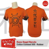 Kaos Orange Segel Naruto