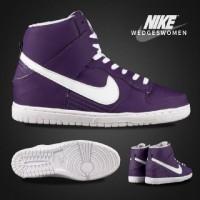 Sepatu Murah Nike Wedges Ungu Lis Putih Sepatu Wanita