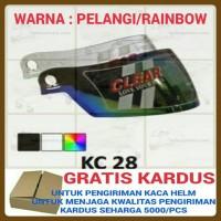 harga KACA HELM, VISOR KYT 805, INK CL26, CL25, CL 26, CL 25 (PELANGI) Tokopedia.com