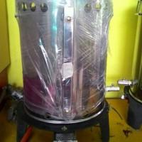 Setrika Uap Gas/Steam Boiler 15Liter Untuk Laundry/Konveksi