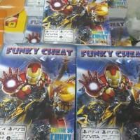 Buku Funky Cheat utk PS2 - PS3 - PS4 - PSP - PSVITA - XBOX