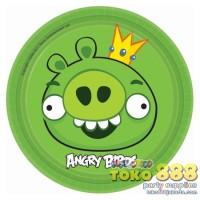 """PAPER PLATES 7"""" ANGRY BIRDS (ISI 8)"""
