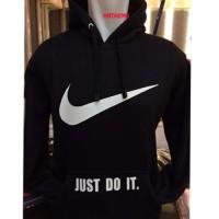 Jual Hoodie Bola Sweter ADIDAS Hitam Besar Jaket Cardigan Varsity Polos Murah