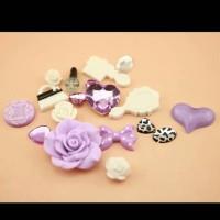 anna sui puthi ungu set