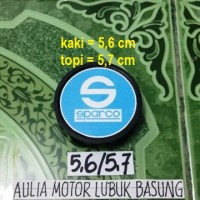 harga dop center / roda velg sparco biru model racing kaki 5,6 cm (1 buah) Tokopedia.com