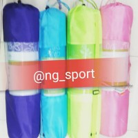 matras yoga motif 8mm FREE BAG /Yogamat /matras senam