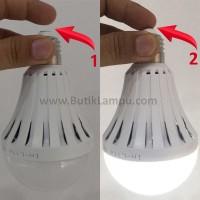 Lampu ajaib sentuh nyala emergency lamp LED