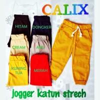 Jogger joger : Celana panjang anak 1 2 3 tahun : laki perempuan laris