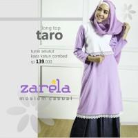 Atasan Busana Muslim Tunik Selutut Zarela Taro