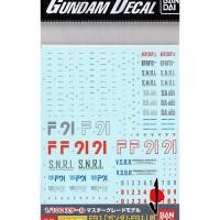 Gundam Decal MG F91