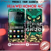 harga Garskin Huawei Honor 4c Motif Burung Hantu Tokopedia.com