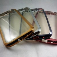 TPU Shining Chrome Jelly Case Silicon Samsung Grand 1 / Grand Neo