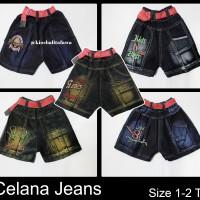 Celana Jeans Uk 1-2 Th / Jeans Anak Laki-Laki Murah Celana Pendek Anak