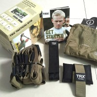 TRX Suspension Trainer T4 Tactical Force Training Kit Tali Latihan