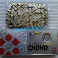 harga rantai motor emas / gold chain 428H-140L (trail,klx) choho Tokopedia.com