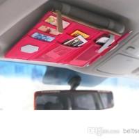 Organizer Car Bag Tas Organiser Mobil Pocket Tempat CD HP Handphone 4K