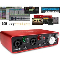 Focusrite Scarlett 2i2 - Second Generation