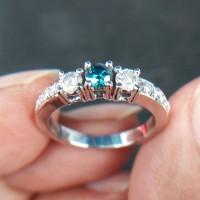 harga Cincin Wanita Berlian Eropa 0510 Ring Emas Tokopedia.com
