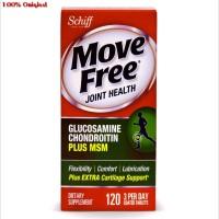 Multivitamin Schiff Move Free Advanced Plus MSM 120 tab