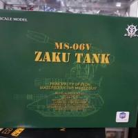 1/100 Zaku tank king motor dengan led