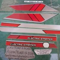 Stiker Komplit Honda Astrea Prima 1990-1991