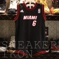 LeBron James MIAMI HEAT Jersey Basket NBA Anak Baby Balita ADIDAS ORI
