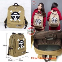 Tas Ransel One Piece / Luffy / Logo