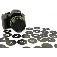 Bokeh Master Kit Blur Filter, membuat efek blur yang indah camera