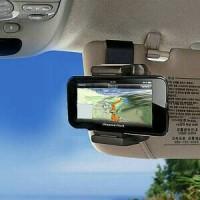 Car Holder Phone / Lazypod Mobil Clip Visor M9