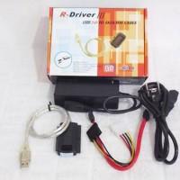 R - Driver Ill Converter Usb To Sata / Ide Untuk Hardisk / Dvd Rom