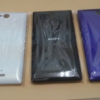back cover sony xperia c, c2305 ori