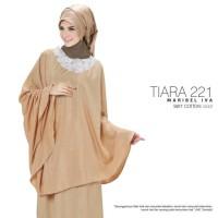 Jual Mukena Tiara 221 Ponco Katun Silk Gold Murah