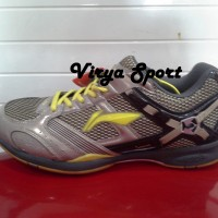 SEPATU BADMINTON LINING ORIGINAL JUNIOR/ LINING SUPER STAR II GOLD
