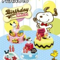 harga Re-ment Snoopy Happy Birthday Cake Set Of 8 Tokopedia.com