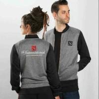 Jaket baseball - Dota 2 varsity jacket grey
