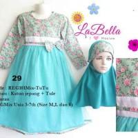 harga Baju Muslim/Gamis Anak Labella (Usia 3 - 6th) REG101MIX-T Tosca No.29 Tokopedia.com