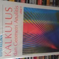 kalkulus dan geometri analitis jilid 1 edisi 5 by edwin J purcell