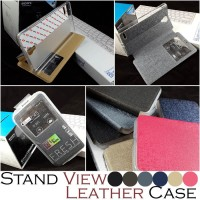 STAND VIEW LEATHER CASE XIAOMI REDMI NOTE - HONGMI NOTE