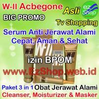 WII Acbegone Obat Untuk Menghilangkan Jerawat Secara Alami Izin BPOM